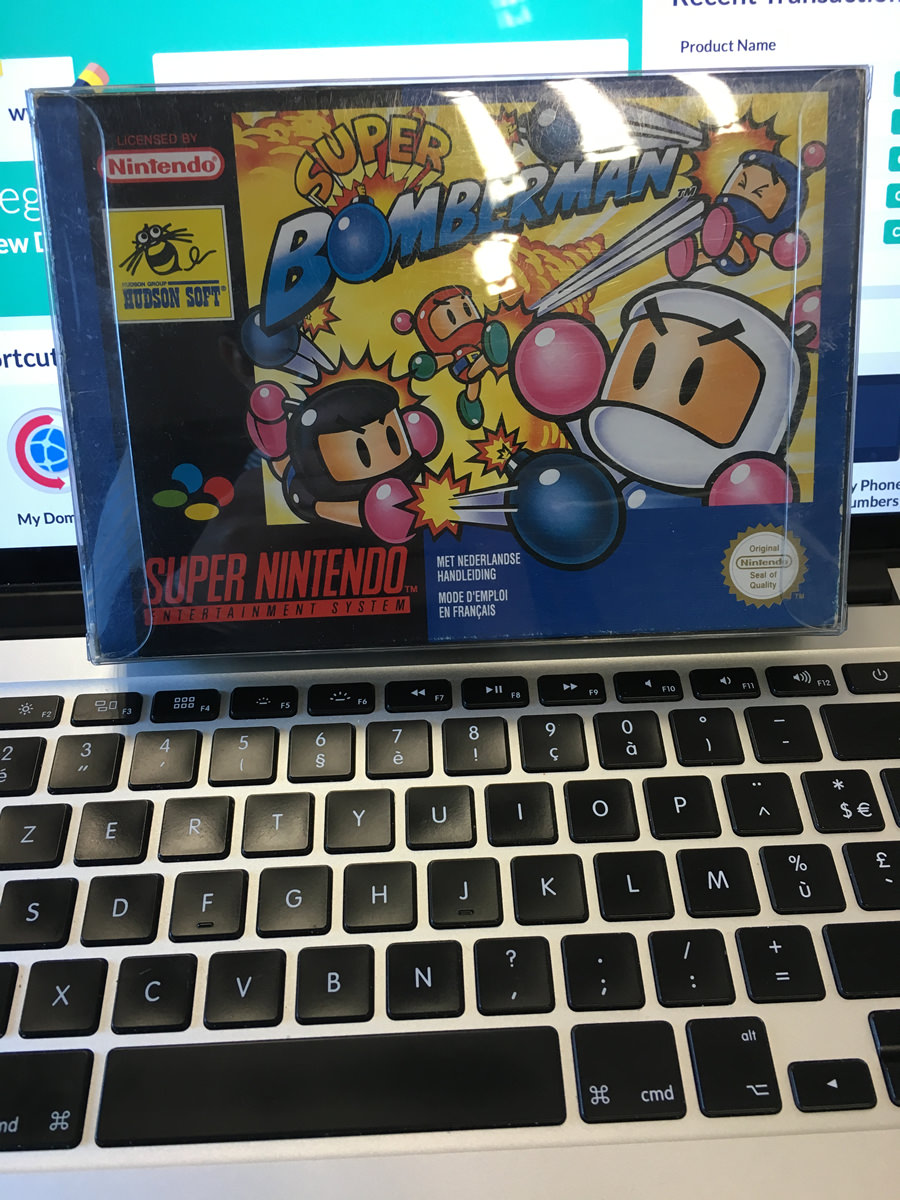 Super Bomberman sur Super Nintendo